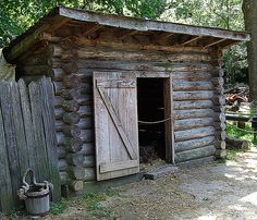 colonial chicken coop
