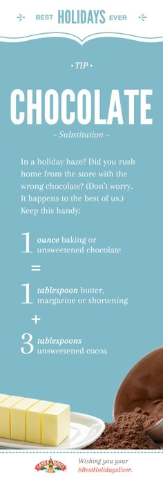 Cocoa or baking chocolate — either way, you're ready to make Double Chocolate Cinnamon Mini Cupcakes. #BestHolidaysEver