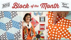 I didn't know Craftsy had free classes! Free video lessons with a block of the month for 2013.