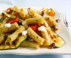 Perfect your picnic the Italian way... cold pasta salads brimming with your favorite summer flavors! #recipes #delallo