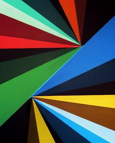 Tri-Colour Angles 03 (2012) / by Jessica Eaton angl 03, paint