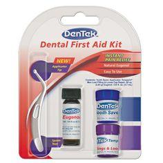 Dental First Aid Kit | DenTek Oral Care first aid kits