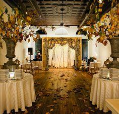 Intimate Backyard Harvest Wedding: Alissa + Jeb