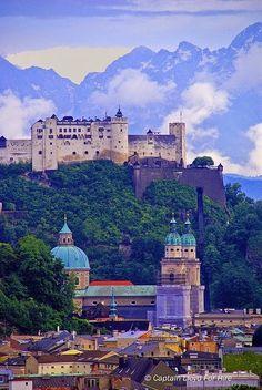 Hohensalzburg Castle,Austria :