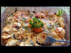 Dynamite Bake shrimp and scallops  recipe