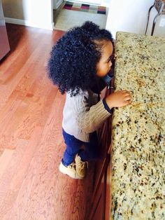 babi curl, awww ador, natur hair, baby girl hair, children, beauti, daughters, baby girls, curly hair