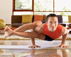 Astavakrasana (Eight-Angle Pose). Try this hip-opening sequence: www.yogajournal.com/practice/1996