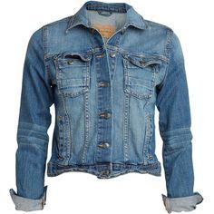 Denim jacket, (€50) found on Polyvore
