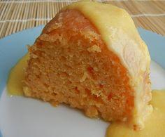 Glazed Orange Bundt Cake--so moist you won't believe it's from a boring old cake mix!