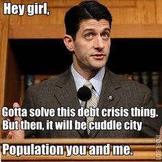 Paul Ryan ryan seri, polit chatter, paul ryan, girl paul, polit crush, hey girl, cuddl time