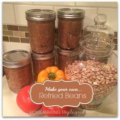 Crock Pot Recipe: Homemade Refried Beans