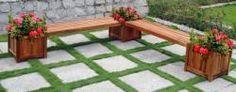 Double Bench/ Flower Box Set