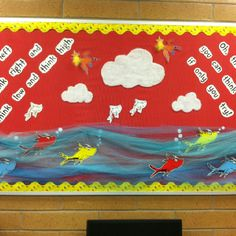 Seuss bulletin board