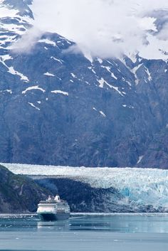 A cruise to Glacier Bay National Park, Alaska