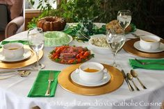 Catholic Cuisine: St. Patrick's Day Dinner dinner