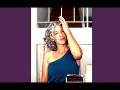 Sara Davis-Eisenman - story of transition to natural silver hair