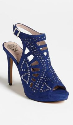 Blue sandal - pretty and on sale!