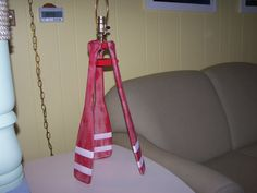 Nautical Lamp Cabin Lamp Cottage Lamp Table by PaddlesOarsAndMore