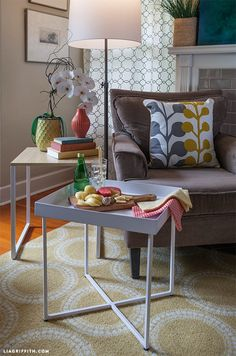One Nesting Table, Three Ways - Snack Tray, Dining Tray @TargetStyle #TargetStyle #RoomEssentials