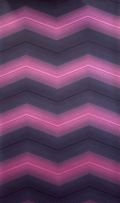 Chevron in radiant orchid.