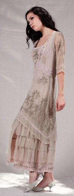 Nataya Tea Party Dress Lavendar Sage
