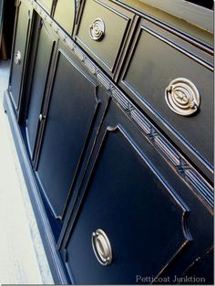 Black Paint Makes A Statement, 8 Furniture Makeovers