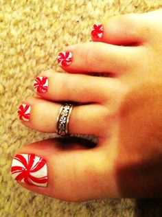 Toe Candy Christmas