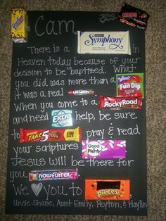 SO cute! @Bill Hughes Hughes Hughes Hughes Piltz i think i may just do this for you....