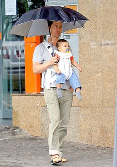 Baby Livingston is Matthew McConaughey's best accessory!