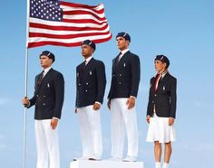 Team USA unveils uniforms for opening ceremony at Olympics