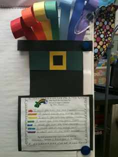 First Grade O.W.L.s: Have you lost your rainbow? Goes with the book-The Leprechaun Who Lost His Rainbow ROYGBIV