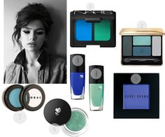 blues + greens for warmer months.