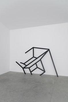 Benoit Lemercier Hypercube, 2014 #geometry #art | via arthurhent.tumblr.com
