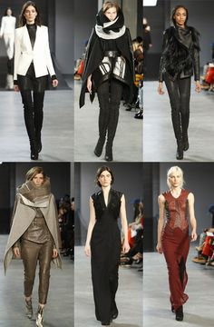 Helmut Lang Fashion Show inspired by Game of Thrones