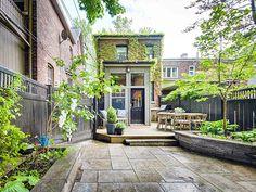 266 Garden Avenue Toronto patio, hous, backyard, garden