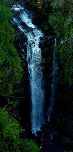 Glenashdale Falls, Isle of Arran, Scotland.
