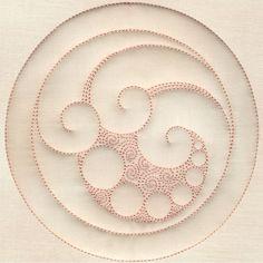 Ocean Waves Circle #12396-18