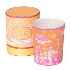 Orange mimosa scented candle - Filled candles - Home accessories - Home & furniture -