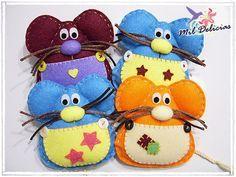 Felt Craft Ideas | ideas, crafts with children from felt - crafts ideas - crafts for kids