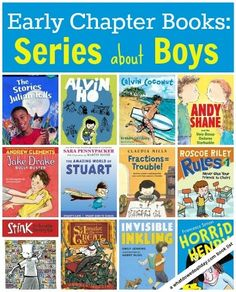 Chapter books for boys