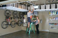 Organization and Storage Secrets for Large Families | Monkey Bars Garage Storage Systems