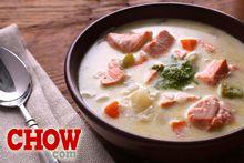 Talk CHOW: Satisfying Salmon Chowder