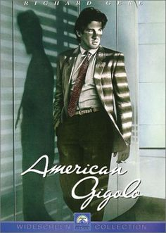 Richard Gere in 'American Gigolo', 1980. fabulous 1980's soundtrack!