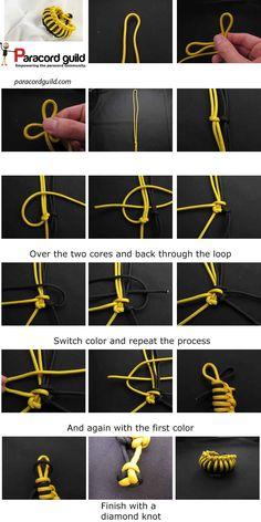 Millipede paracord braid
