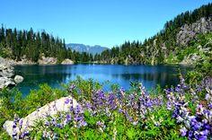 Lake Serene in the North Cascades of Washington State #hiking