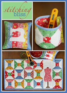 bliss pattern, pincushion, pattern photo, sewing patterns