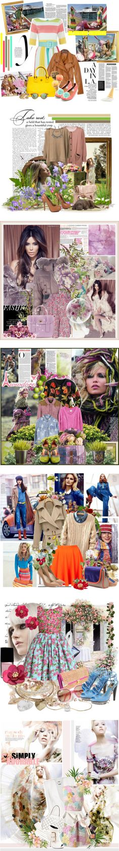 """""""Bringing in Spring 2013"""" by mewcrazy1993 ❤ liked on Polyvore"""
