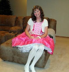 There is nothing better than a petticoat to make a cross dresser smile.