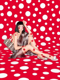 Angelo Pennetta Shoots Yayoi Kusama Collection for Louis Vuitton