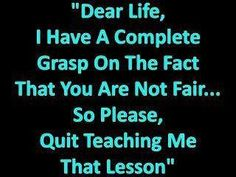 Lesson learned!